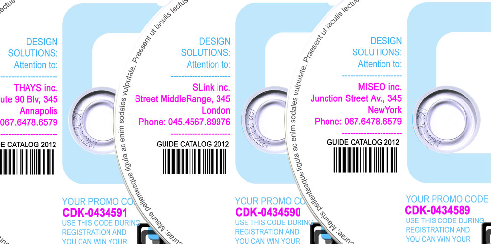 Personalise CD DVD Blu Ray Printing
